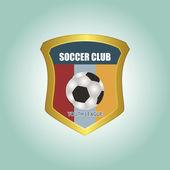 Fußball — Stockvektor