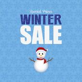 Winter Sale — Stock Vector