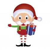 Cute Elf — Stock Vector