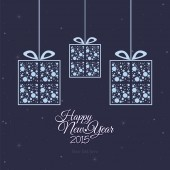 New year — Stock Vector