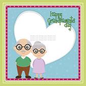 Dzień babci i dziadka — Wektor stockowy