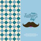 Babalar günü — Stok Vektör