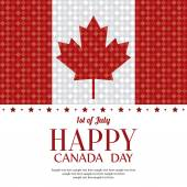 Канадский день — Cтоковый вектор