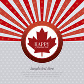 Canada Day — Stock Vector