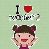 Teacher's Day — Stock Vector