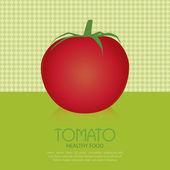 Tomate — Vector de stock