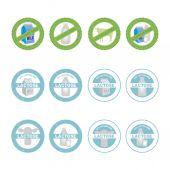 Свободная лактоза — Cтоковый вектор
