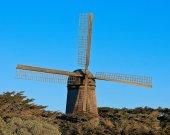 Large windmill — Stock Photo