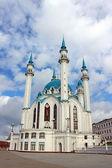 The Kul Sharif mosque in Kazan on a background cloudy sky — Stockfoto