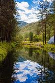 ミラーの風景 — ストック写真