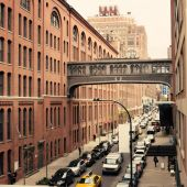 Street in Chelsea — Stock Photo