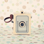 Antiga câmera retrô — Foto Stock