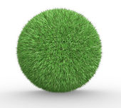Sphere of grass — 图库照片