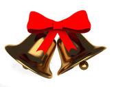 3d christmas bells — Stock Photo