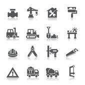 Výstavba ikony — Stock vektor