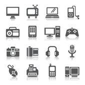Iconos de productos digitales — Vector de stock
