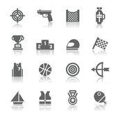 Sport Competition Icons — ストックベクタ