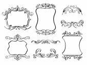 Elegant Ornate frames — Stock Vector