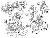 華やかなフレーム — ストックベクタ