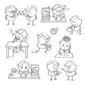 Ilustrações de empresário — Vetor de Stock