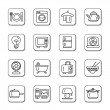 Houseware Doodle Icons — Stock Vector #54090293