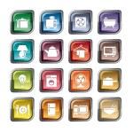 Houseware Icons — Stock Vector #55739535