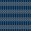 Winter Holiday Seamless Knitted Pattern — Stock Vector #57512645