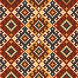 Folk seamless pattern ornament. Ethnic ornament — Stock Vector #58917519