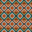 Vector illustration of folk seamless pattern ornament. Ethnic or — Stock Vector #58917531