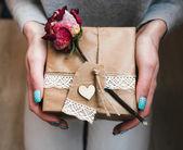 A lot of gifts on Valentine's Day — Zdjęcie stockowe
