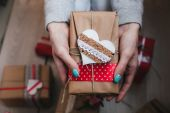 A lot of gifts on Valentine's Day — ストック写真