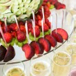 Cocktail with fruits — Stock Photo #65517017