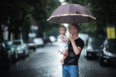 Father and daughter — Stock fotografie