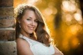 Güzel bir kadın kılığında — Stok fotoğraf