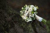 Very beautiful bridal bouquet — Stock Photo