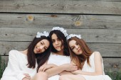 Three beautiful girls — Stock Photo