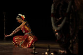 Nidhi Ravishankar - Bharatanatyam — Stock Photo