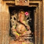 Stone Carved Ganesha — Stock Photo #61654797