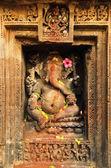 Stone Carved Ganesha — Zdjęcie stockowe