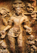 Stone Carvings Srimukhalingam — Stock Photo