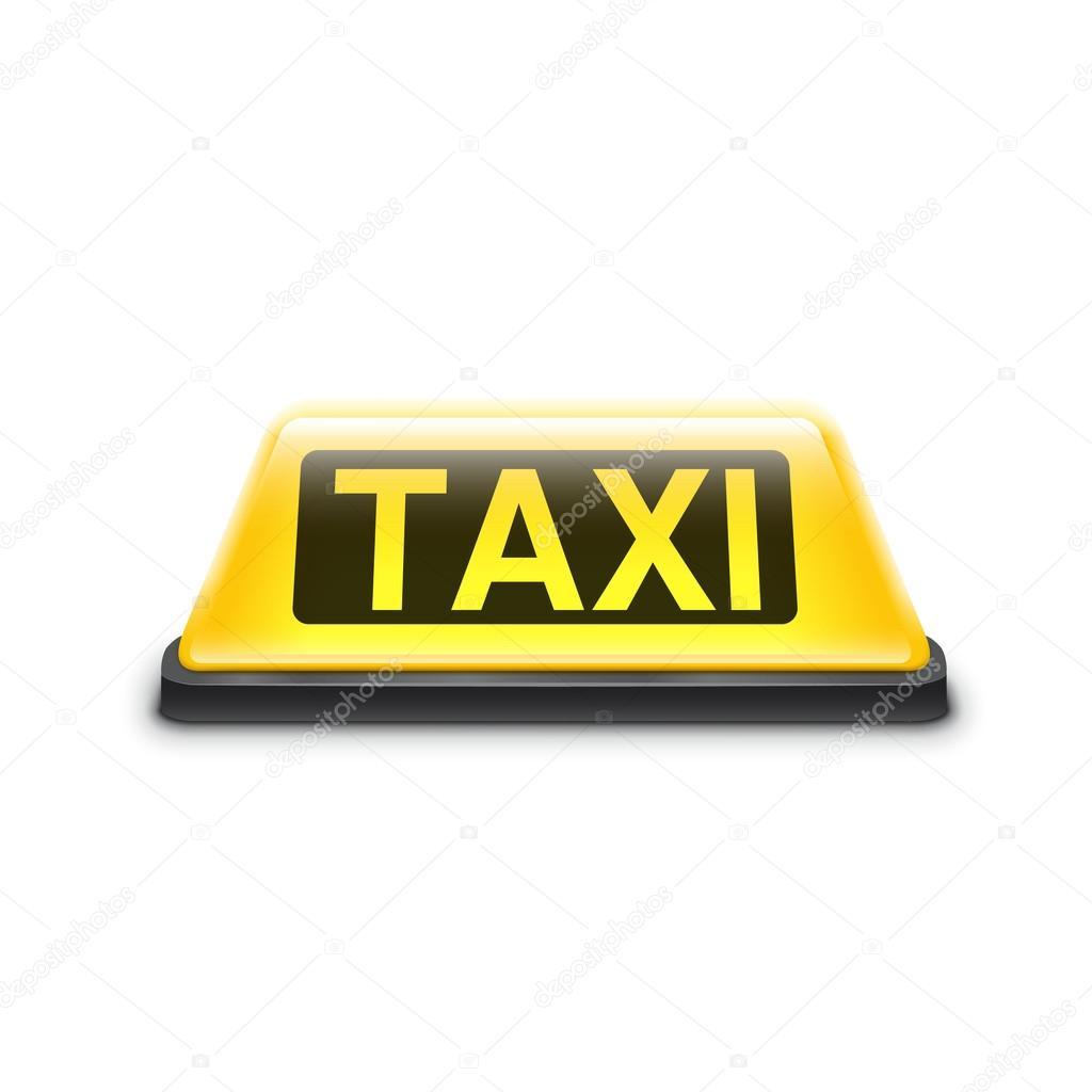 Panneau taxi toit