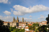 Cathedral of Santiago de Compostela — Stock Photo