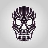 Skull tattoo vector  — Stock vektor