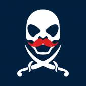 Pirate vector — Stockvector