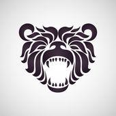 Bear logo — Stock Vector