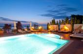 Zwembad van hotel — Stockfoto