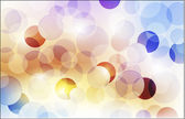 Abstract background with shiny circles — Stock Vector