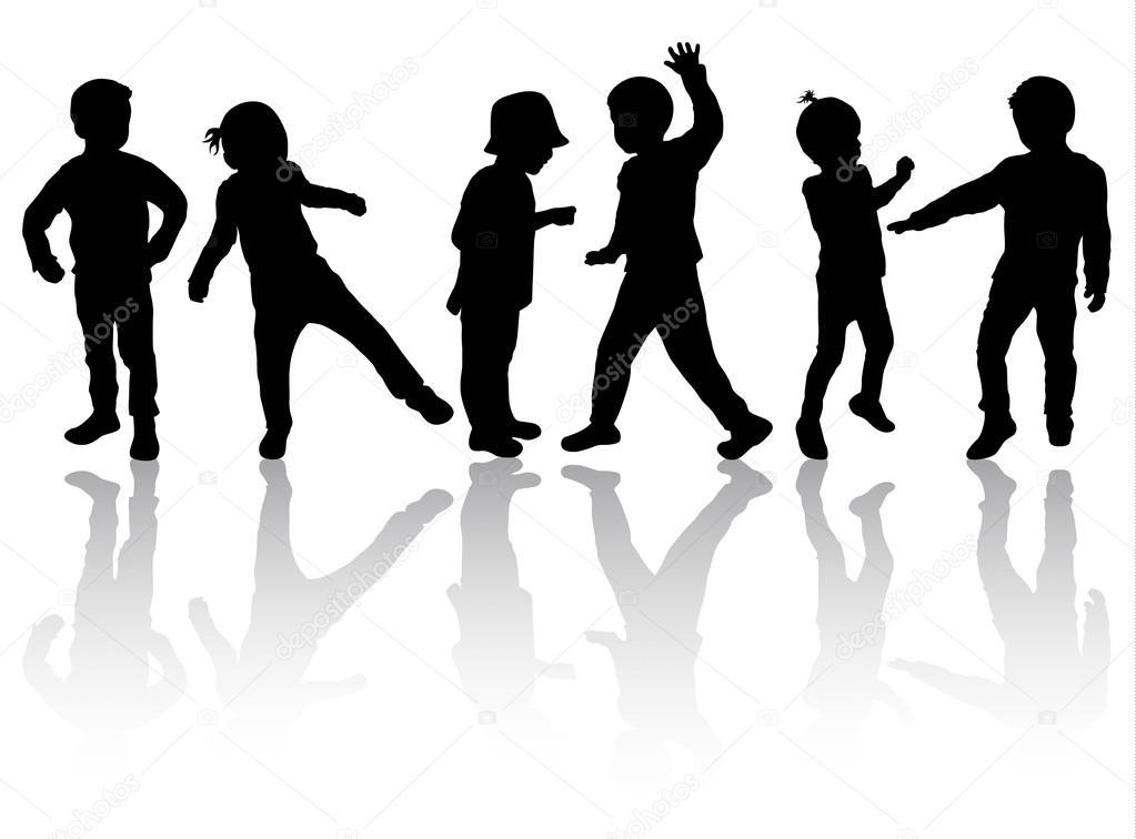 Dancing shadows dance music fun 7