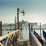 Venice, italy, italian, summer, sunny day, Piazza San Marco, gondola, gondolas — Stock Photo #51957143