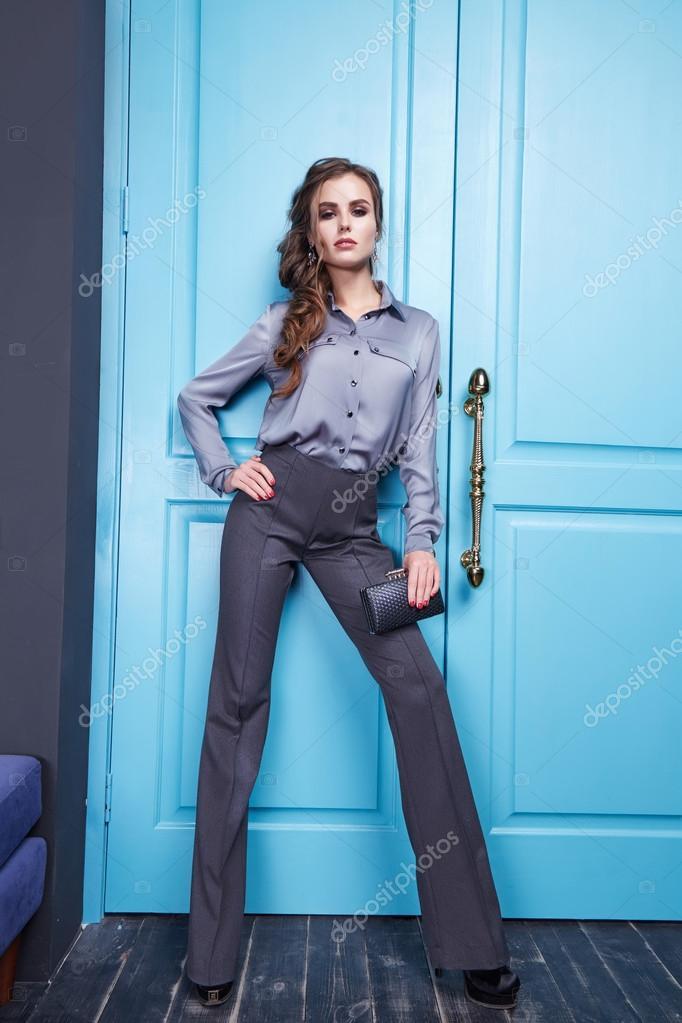 Sch Nes Sexy M Dchen Gekleidet Stil Der Mode Kleidung Neue